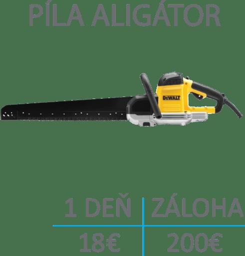 aligator- pila na tehlu porfix ytong